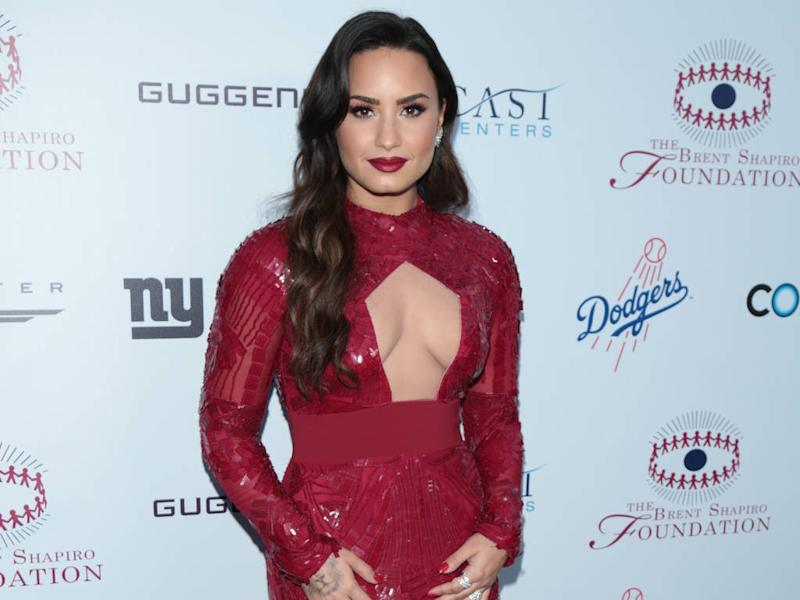 Demi Lovato hits back after she's criticised for not talking about her sexuality