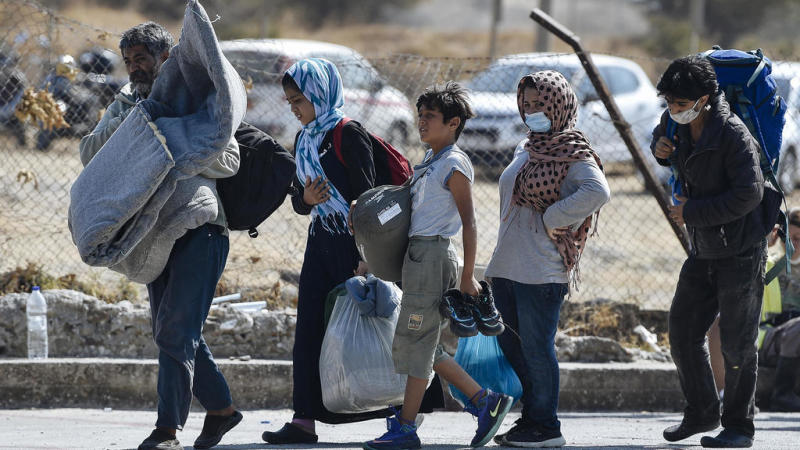 Minors among six suspects to face Greek prosecutor over migrant camp fire