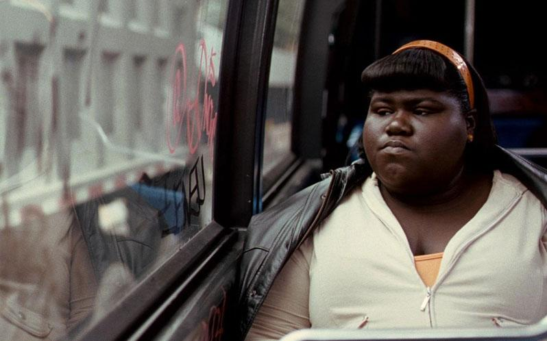 Sidibe in Precious (Credit: Lionsgate)