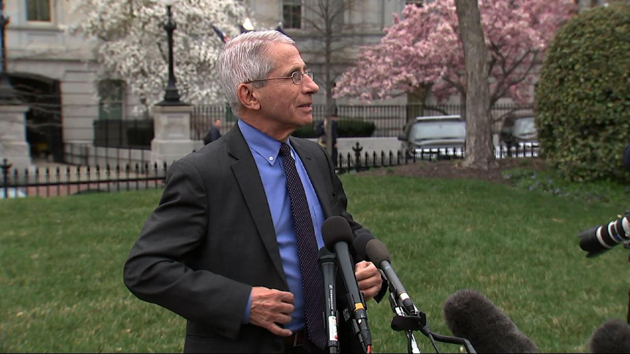 Fauci: More tests available in 'a week or so' Video