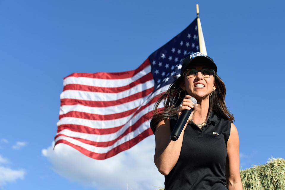 """Rep. Lauren Boebert is a featured panelist at CPAC this year. On the morning of the Jan. 6 insurrection she tweeted, """"Today is 1776."""" (Photo: Getty Images)"""