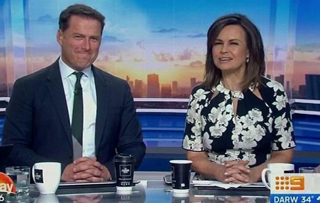 Lisa's surprise final day was filled with awkward encounters between her and Karl. Source: Channel Nine