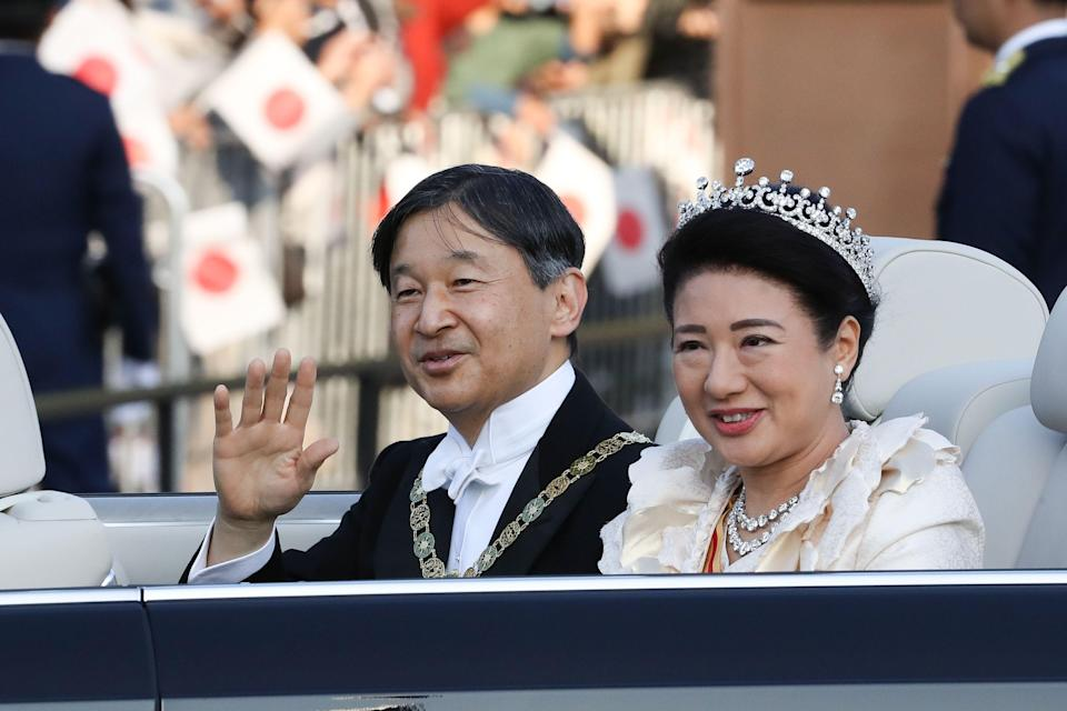 """<p>For many of us in the U.S., the words """"royal family"""" automatically conjure images of the Buckingham Palace balcony, but the Brits are far from the only ones to boast a royal family with a long heritage and history—not to mention a dash of pomp and circumstance. In fact, the imperial house of Japan claims the oldest continuous monarchy in the world, tracing their history <a href=""""https://www.nytimes.com/2016/08/09/world/asia/emperor-akihito-japan-imperial-family.html"""" rel=""""nofollow noopener"""" target=""""_blank"""" data-ylk=""""slk:back to 600 BC"""" class=""""link rapid-noclick-resp"""">back to 600 BC</a>. (Though some of those early emperors are shrouded in myth, there is evidence of the family's reign as far back as 500 AD.) </p><p>Here, we take a look at some of the must-know names from the modern imperial family. </p>"""