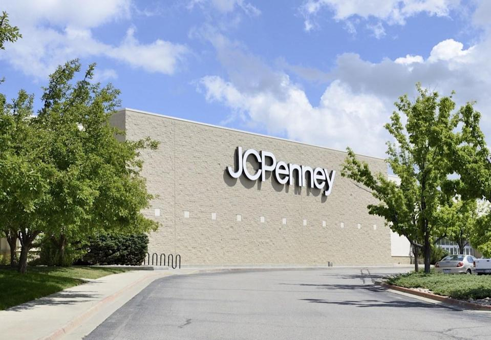 Fort Collins, Colorado, USA - July 19, 2013: The J.C. Penney location in Fort Collins. Founded in 1902, J.C. Penney is a chain of department stores with over 1,100 locations.