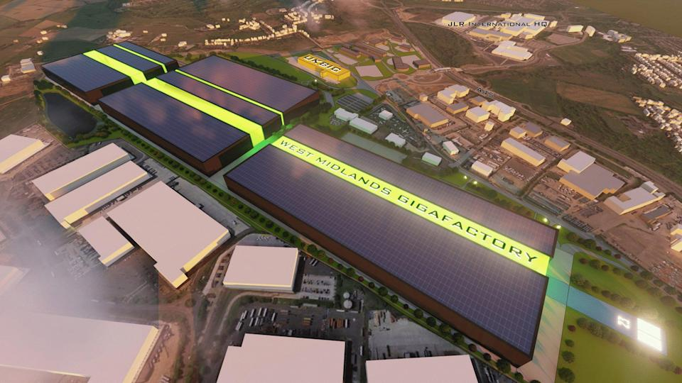 Coventry's proposed gigafactory (PA Media)