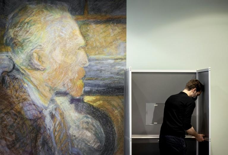 Mask-wearing citizens will be able to vote in a host of locations from the famed Van Gogh museum in Amsterdam to dozens of railway stations