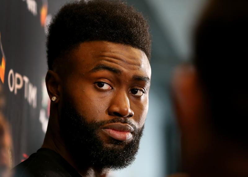 Celtics forward Jaylen Brown may be in line for a big contract in 2020. (Getty Images)