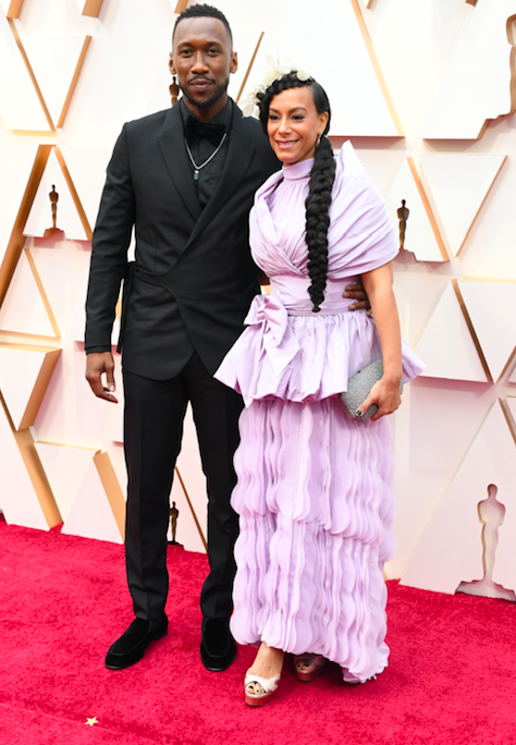 <p>The husband and wife looked ultra-powerful on the Oscars red carpet.</p>