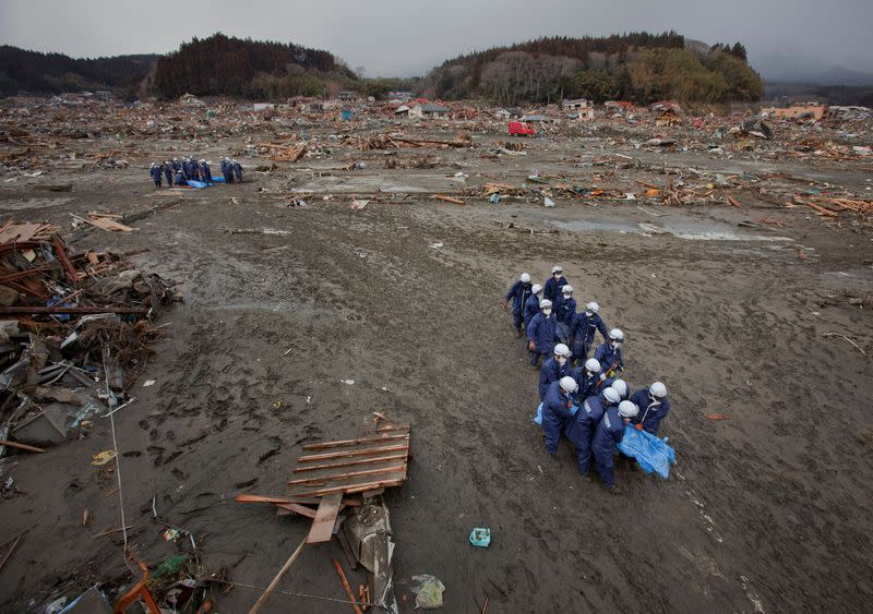 FILE PHOTO: 10th anniversary of Japan's quake, tsunami and nuclear disaster