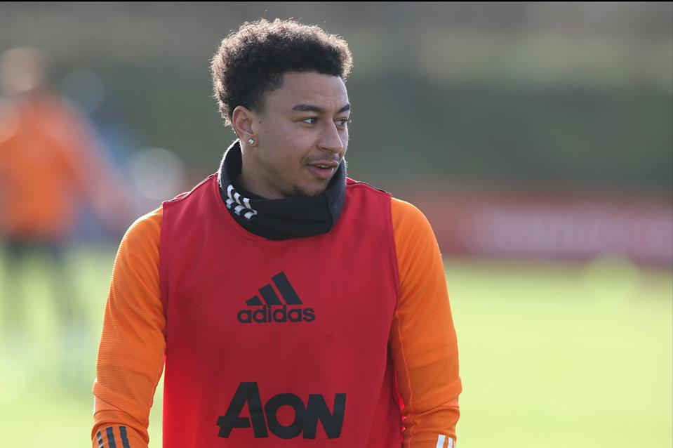 <p>On the move? Jesse Lingard will be allowed to leave Manchester United this month</p> (Manchester United via Getty Imag)