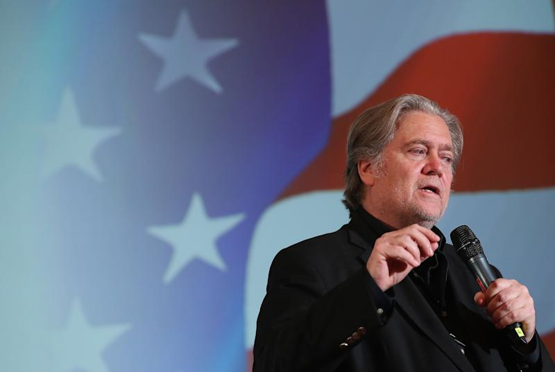 Steve Bannon, former White House Chief Strategist to President Donald Trump, was berated in a bookstore. (Photo: Sean Gallup via Getty Images)