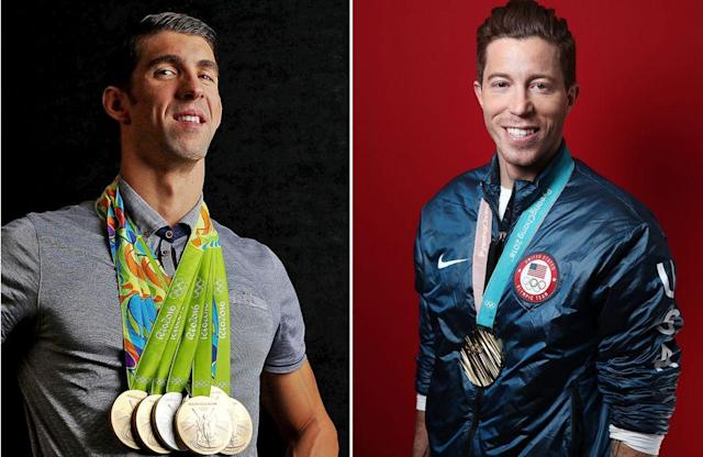 Shaun White Trades Tweets with Michael Phelps After Historic Win