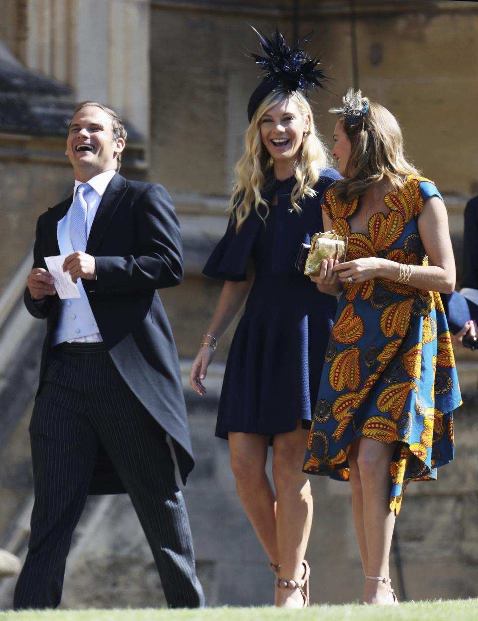 Chelsy Davy at Windsor Castle.