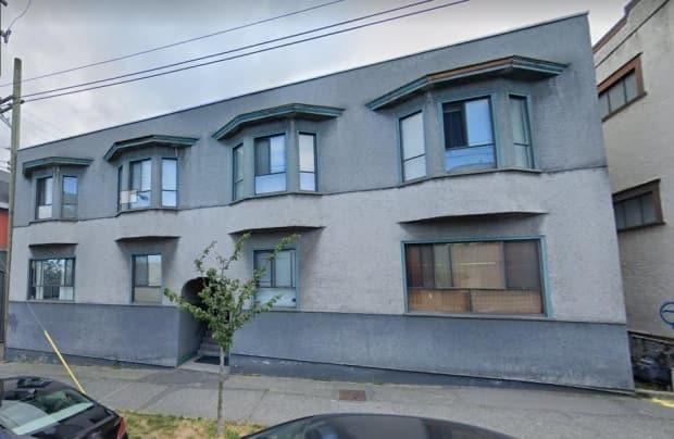 The property at 1540 Yew St. in Vancouver is more than 100 years old. Current tenants say the suites need extensive repairs and upgrades. (Google Maps - image credit)