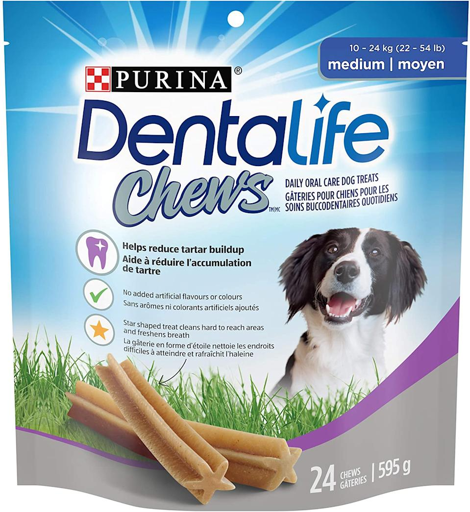 DentaLife Chews. Image via Amazon.