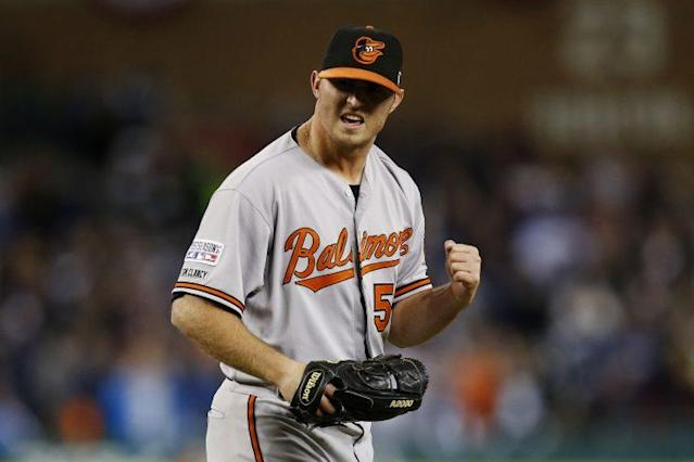 No reliever was better than Orioles closer Zach Britton in 2016. (Getty Images/Gregory Shamus)