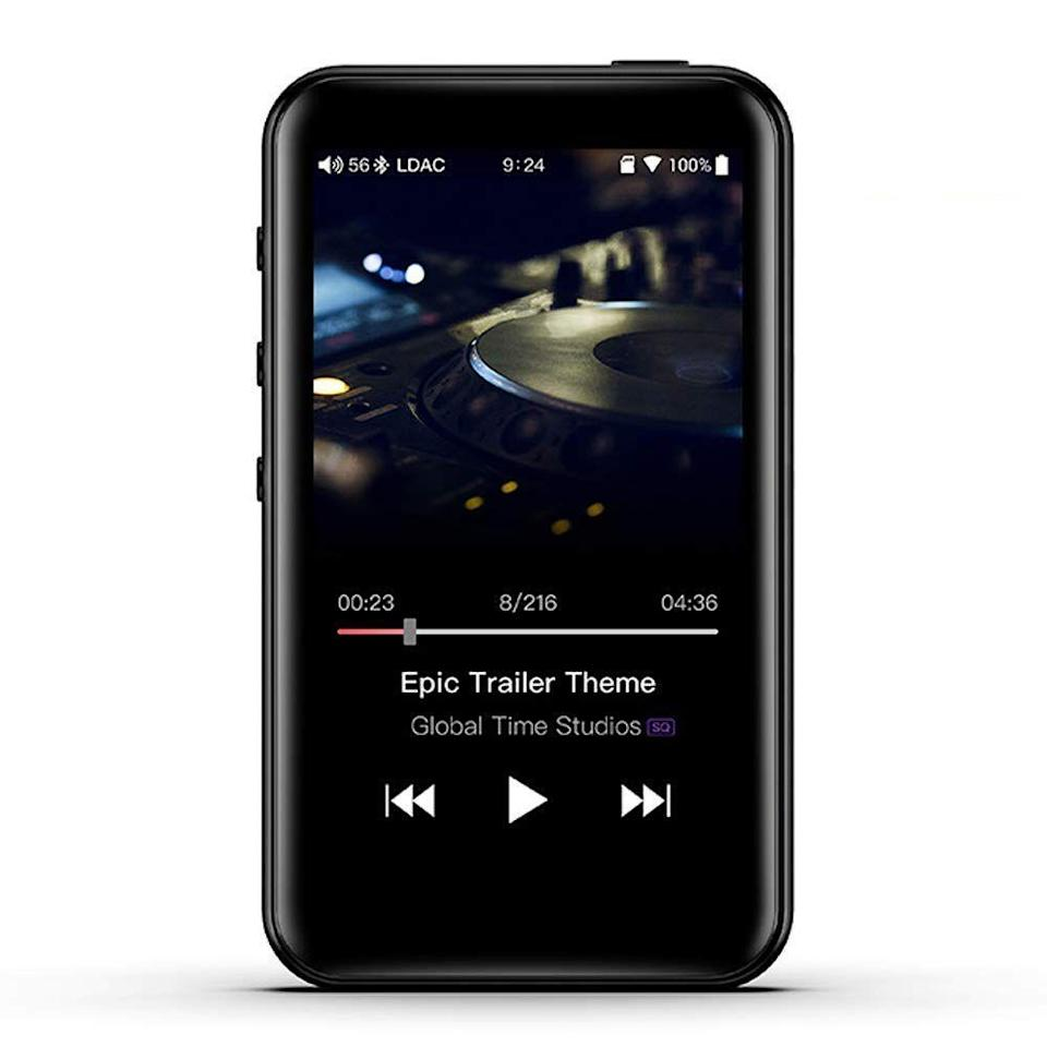 """<p><strong>FiiO</strong></p><p>amazon.com</p><p><strong>$129.99</strong></p><p><a href=""""https://www.amazon.com/dp/B07L8P8QDY?tag=syn-yahoo-20&ascsubtag=%5Bartid%7C2089.g.1064%5Bsrc%7Cyahoo-us"""" rel=""""nofollow noopener"""" target=""""_blank"""" data-ylk=""""slk:Shop Now"""" class=""""link rapid-noclick-resp"""">Shop Now</a></p><p>The FiiO M6 MP3 player is a solid alternative to the feature-packed Sony NW-A105. It's elegant, easy to use, and more affordable. The audio performance of the M6 is also top-notch, courtesy of high-quality audio components, as well as a speedy Samsung-made chipset.</p><p>Compared to the Sony NW-A105, the M6 has less battery life (up to 13 hours) and considerably less built-in storage (only 2 GB versus 16). I would recommend purchasing a microSD card alongside the device.</p><p>What makes the FiiO M6 stand out in its price range is a 3.2-inch touch screen with an intuitive user interface, as well as compatibility with all major streaming services. FiiO has made this possible by equipping the gadget with a customized version of Android, thus bringing the ability to install Spotify, Tidal, and Qobuz, among others.</p><p>As expected, the FiiO M6 supports a wide range of audio formats, including Hi-Res Audio files. Other highlights of the product include Bluetooth connectivity and the ability to work as a USB DAC on your computer.</p>"""