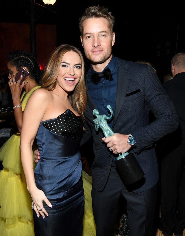 Chrishell and Justin | Kevin Mazur/Getty