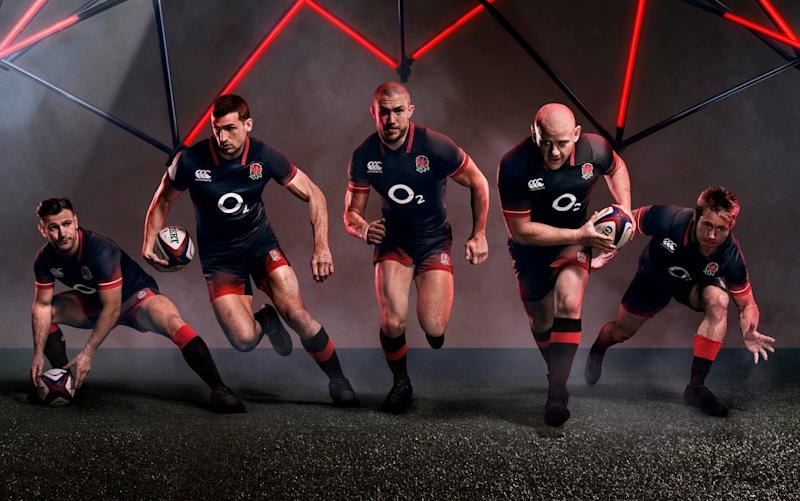 The new kit is the eighth in three years - Canterbury
