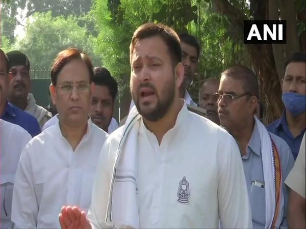 RJD leader Tejashwi Yadav (File photo)