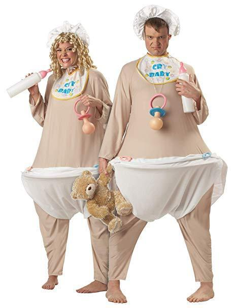 Cry Babies Couples Costume
