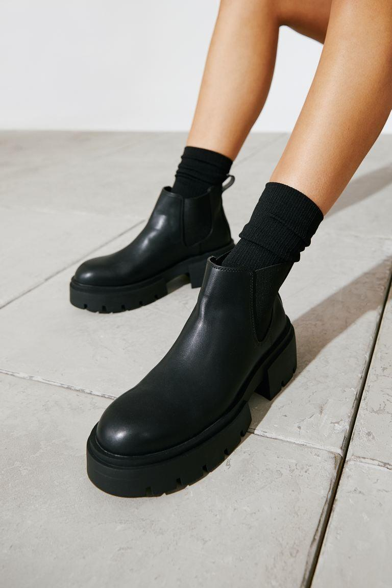 <p>If you want something that's easy to slip on and off, then opt for the <span>H&amp;M Chelsea Boots</span> ($35). It also comes in a light-beige choice.</p>