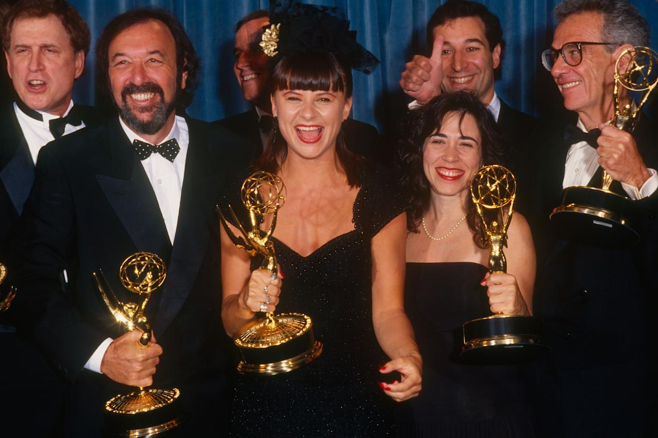 "<p>The 71st Primetime Emmy Awards are almost here, and this year, records are being broken by powerhouse series, ""Game of Thrones,"" and even first-time nominees like Billy Porter. On September 22, celebrities will be lining the red carpet with the latest looks. Want to take a peek at what they wore in 1989? Here are some of the best shoulders pads of the year. </p>"