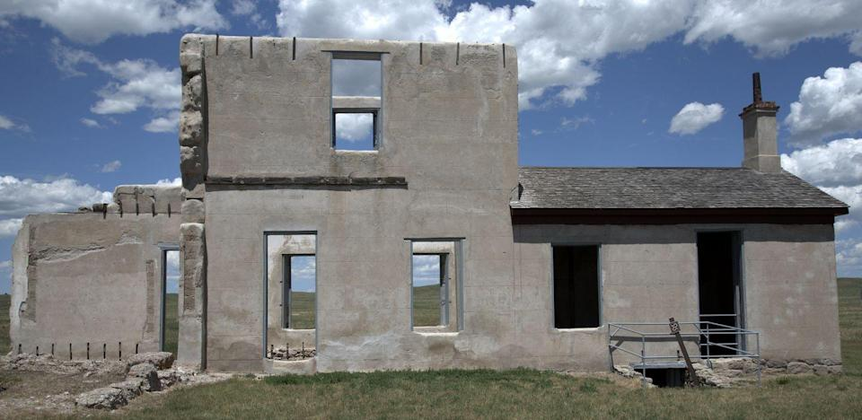 """<p><strong>Fort Laramie, WY</strong></p><p>Established in the 1830s as a prominent trading post on the Oregon Trail, the building (or what's left of it) has been preserved under the National Park Service. Today, many <a href=""""https://www.onlyinyourstate.com/wyoming/this-haunted-fort-in-wy-is-creepy/"""" rel=""""nofollow noopener"""" target=""""_blank"""" data-ylk=""""slk:creepy legends"""" class=""""link rapid-noclick-resp"""">creepy legends</a> surround the historic site regarding those who still roam around it.</p><p>Photo: Flickr/<a href=""""https://www.flickr.com/photos/jamiedfw/19653288401/in/photolist-75VX5-75VV5-vWGeW2-uZr3FZ-vWibxt-vWiKwK-uZjJNY-vDQY4n-vDGncJ-vVGWWf-vWHERv-vVGujY-vWHihD-aahC9b-4MfF3k-xZQHa"""" rel=""""nofollow noopener"""" target=""""_blank"""" data-ylk=""""slk:Jim Bowen"""" class=""""link rapid-noclick-resp"""">Jim Bowen</a></p>"""