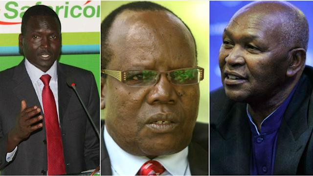 Former FKF boss Sam Nyamweya was part of the successful plan which saw Tergat go to Nock polls unopposed