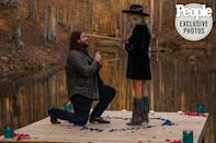 "<p>The singer got down on one knee to ask his longtime love to marry him — and <a href=""https://people.com/country/dillon-carmichael-engaged-shayla-whitson-proposal-photos/"" rel=""nofollow noopener"" target=""_blank"" data-ylk=""slk:he tells PEOPLE"" class=""link rapid-noclick-resp"">he tells PEOPLE</a> she said yes before he even had a chance to ask. But he's been waiting a long time to hear that word: ""I would even tell her, 'I'm going to marry you one day,' before we started dating, which is kind of an absurd thing to say,"" he said. ""But now that it's actually happening, I guess it's not that absurd.""</p>"
