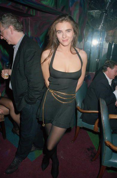 <p>Elizabeth made several acting cameos in the early '90s, including a role on the television series <em>The Good Guys </em>(seen here at the premiere).</p>
