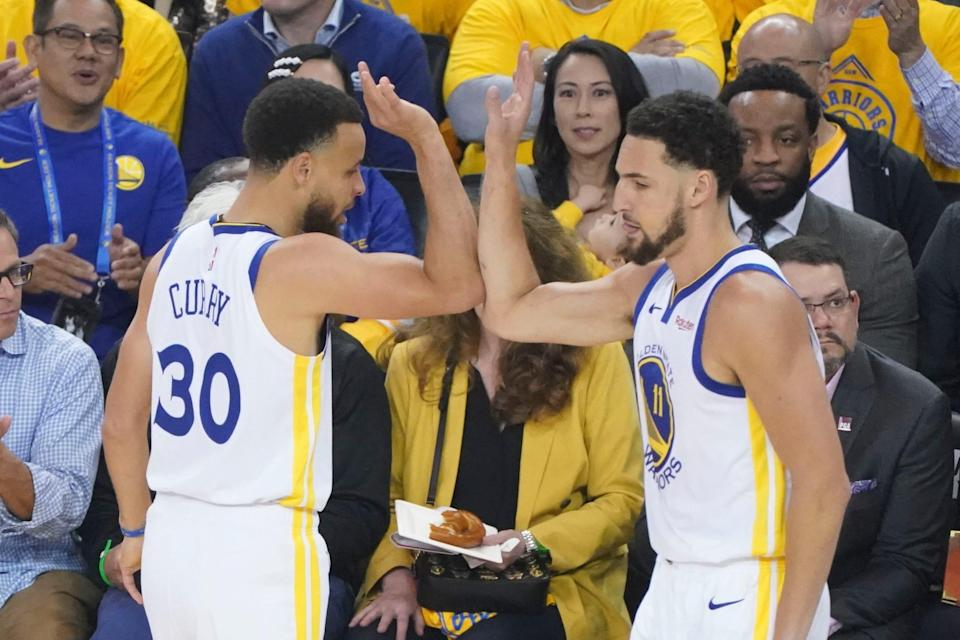 Steph Curry and Klay Thompson have won three championships together with the Warriors.