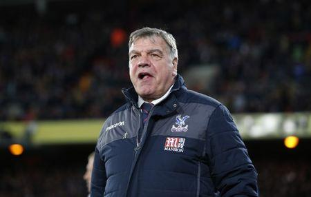 Crystal Palace manager Sam Allardyce before the match