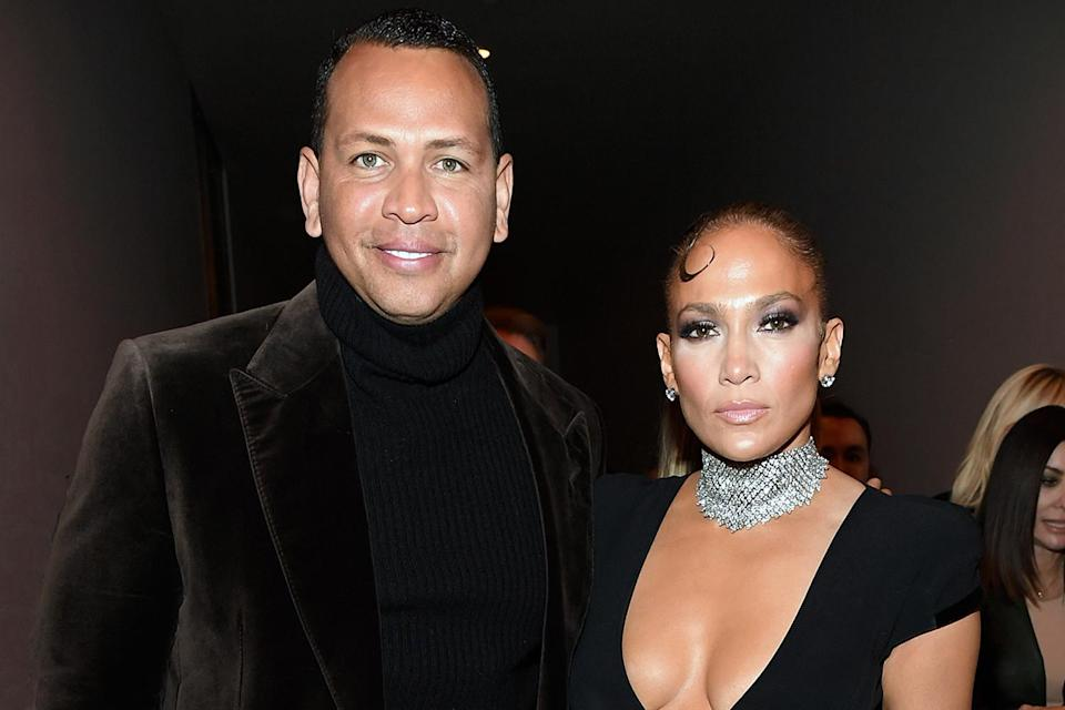 "<p>In March 2021, PEOPLE confirmed that <a href=""https://people.com/music/jennifer-lopez-alex-rodriguez-end-engagement/"" rel=""nofollow noopener"" target=""_blank"" data-ylk=""slk:the couple had ended their two-year engagement."" class=""link rapid-noclick-resp"">the couple had ended their two-year engagement.</a> </p> <p>""This has been a long time coming,"" a source told PEOPLE. ""They are tied in their business worlds so it's not a cut and dry break up. It's taken a while for them to even think about untangling it all.""</p> <p>Weeks earlier, on Feb. 28, Rodriguez had <a href=""https://www.instagram.com/p/CL1y99vn8PZ/"" rel=""nofollow noopener"" target=""_blank"" data-ylk=""slk:posted a photo to Instagram"" class=""link rapid-noclick-resp"">posted a photo to Instagram</a> of the pair in the Dominican Republic, where Lopez is filming a movie.</p> <p><em>The New York Post</em>'s <em><a href=""https://pagesix.com/2021/03/12/jennifer-lopez-and-alex-rodriguez-break-up-call-off-engagement/"" rel=""nofollow noopener"" target=""_blank"" data-ylk=""slk:Page Six"" class=""link rapid-noclick-resp"">Page Six</a></em> was the first to report the news.</p>"