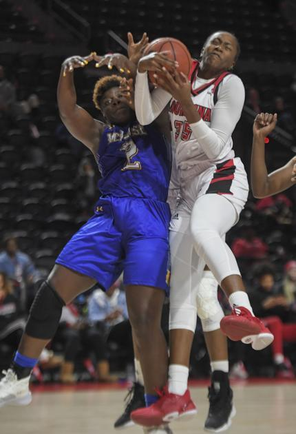 Ty Doucet, Brandi Williams pace UL women hoops to blowout win over McNeese State