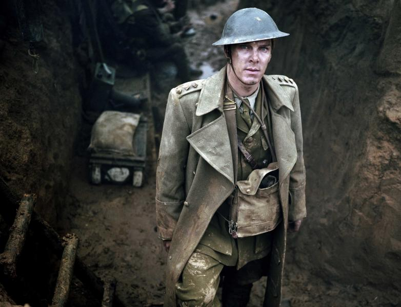 """This publicity image released by HBO shows Benedict Cumberbatch is shown in the five-part miniseries """"Parade's End,"""" debuting Feb. 26 on HBO. (AP Photo/HBO, Nick Briggs)"""