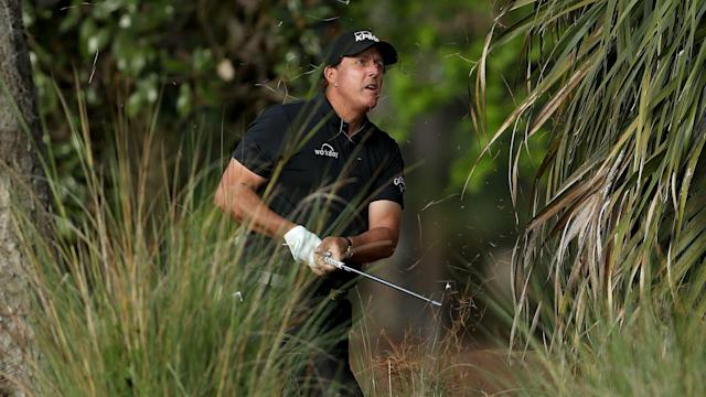 In March or in May, Phil Mickelson's strained relationship with TPC Sawgrass isn't getting any better.