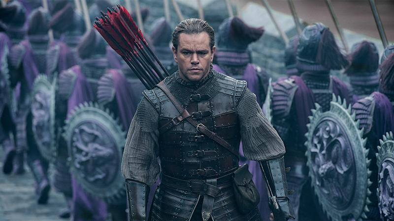 how matt damon nabbed the lead role in great wall
