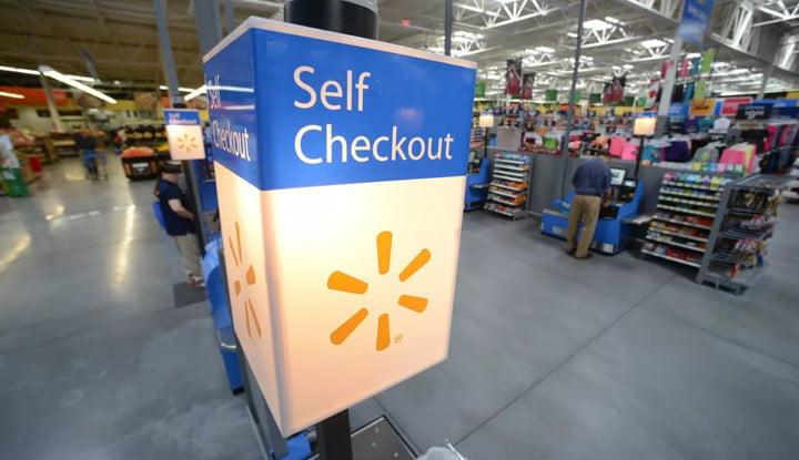 walmart ATMs self-pay artificial intelligence self checkout