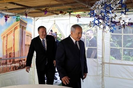 U.S. Secretary of State Mike Pompeo and Israeli Prime Minister Benjamin Netanyahu meet in Jerusalem