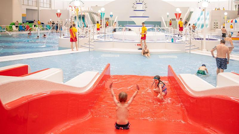 Splash has countless slides for all ages (Butlin's)