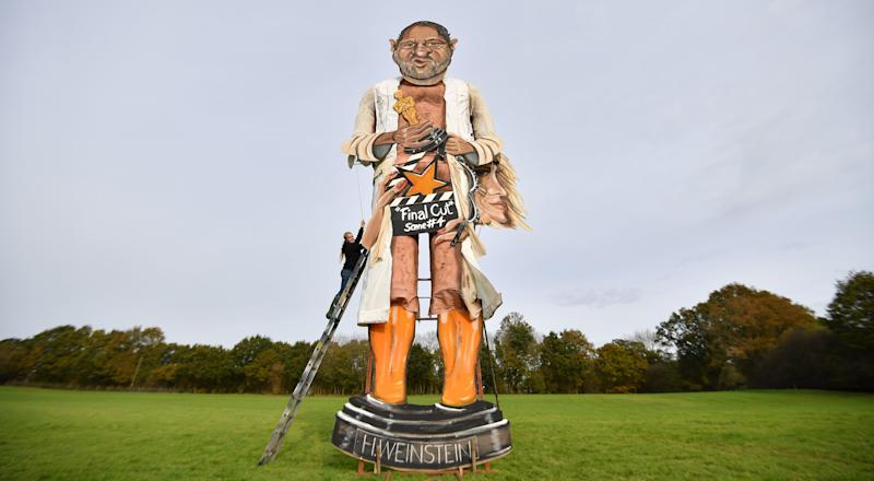 An effigy of Harvey Weinstein will be set alight at the Edenbridge bonfire celebrations this weekend.