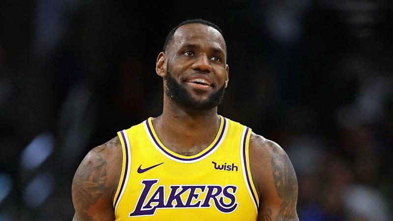 0a3773698db Lakers star LeBron James tops NBA jersey sales