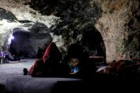 Palestinian cave-dwellers worry over Israeli settler incursions