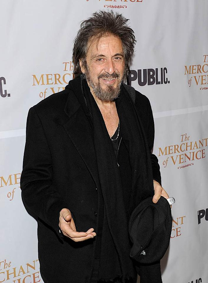 "Al Pacino turns 71 Eugene Gologursky/<a href=""http://www.wireimage.com"" target=""new"">WireImage.com</a> - November 7, 2010"