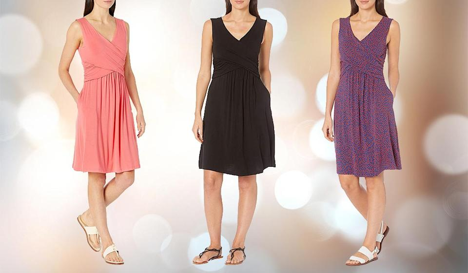 Amazon shoppers are practically buying this timeless frock in bulk. (Photo: Amazon)