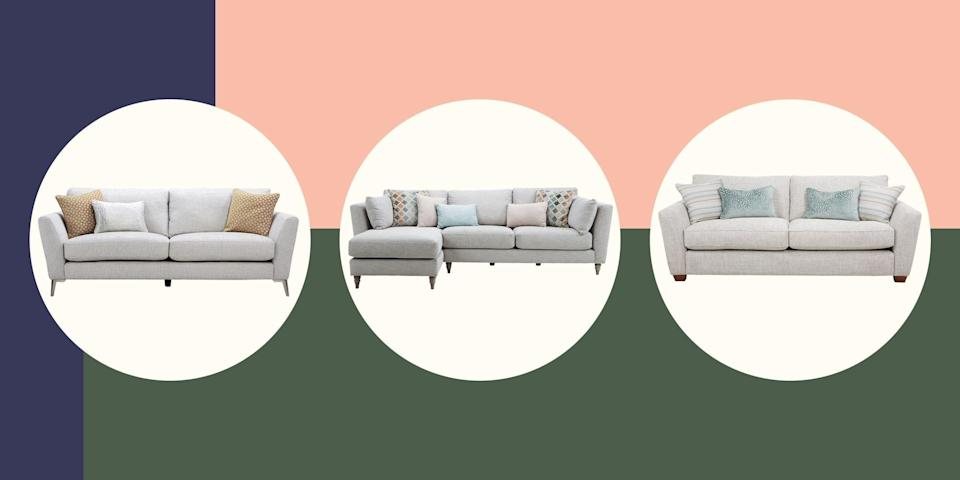 """<p><strong>At House Beautiful, we know how much great style means to you, which is why we're so proud to have partnered with furnishing experts DFS to bring you this fabulous – and exclusive – House Beautiful collection of sofas. </strong></p><p>There are six in the range, all of which come in multiple colourways and styles, including two- and three-seaters, corner sets, cuddlers, loungers, sofa beds and chaises, so you're guaranteed to find the perfect one to suit your space and your lifestyle.</p><p>We've worked hand-in-hand with the designers at DFS to ensure every <a href=""""https://www.housebeautiful.com/uk/decorate/living-room/a85/buy-sofa/"""" rel=""""nofollow noopener"""" target=""""_blank"""" data-ylk=""""slk:sofa"""" class=""""link rapid-noclick-resp"""">sofa</a> is that perfect mix of irresistible comfort, contemporary style and practicality needed to meet the demands of modern family living. Each piece is hand-built to order in the UK, using only the best fabrics and durable hardwood frames, and comes with a 15-year frame and frame springs guarantee, for extra peace of mind. </p><p>Browse these sofas below in versatile grey and neutral colours, but there are many more colours and fabrics to choose from. Visit <a href=""""https://www.dfs.co.uk/content/house-beautiful"""" rel=""""nofollow noopener"""" target=""""_blank"""" data-ylk=""""slk:dfs.co.uk/house-beautiful"""" class=""""link rapid-noclick-resp"""">dfs.co.uk/house-beautiful</a> for more.</p>"""