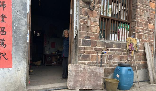 Only 20 elderly residents remain in Liantang, but there are hopes the green initiative will lure some of the younger generation to return. Photo: Thomas Yau