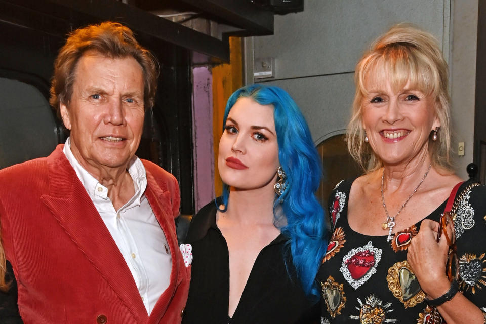 Theo Fennell, Coco Fennell and Louise Fennell (L - R) (Dave Benett)