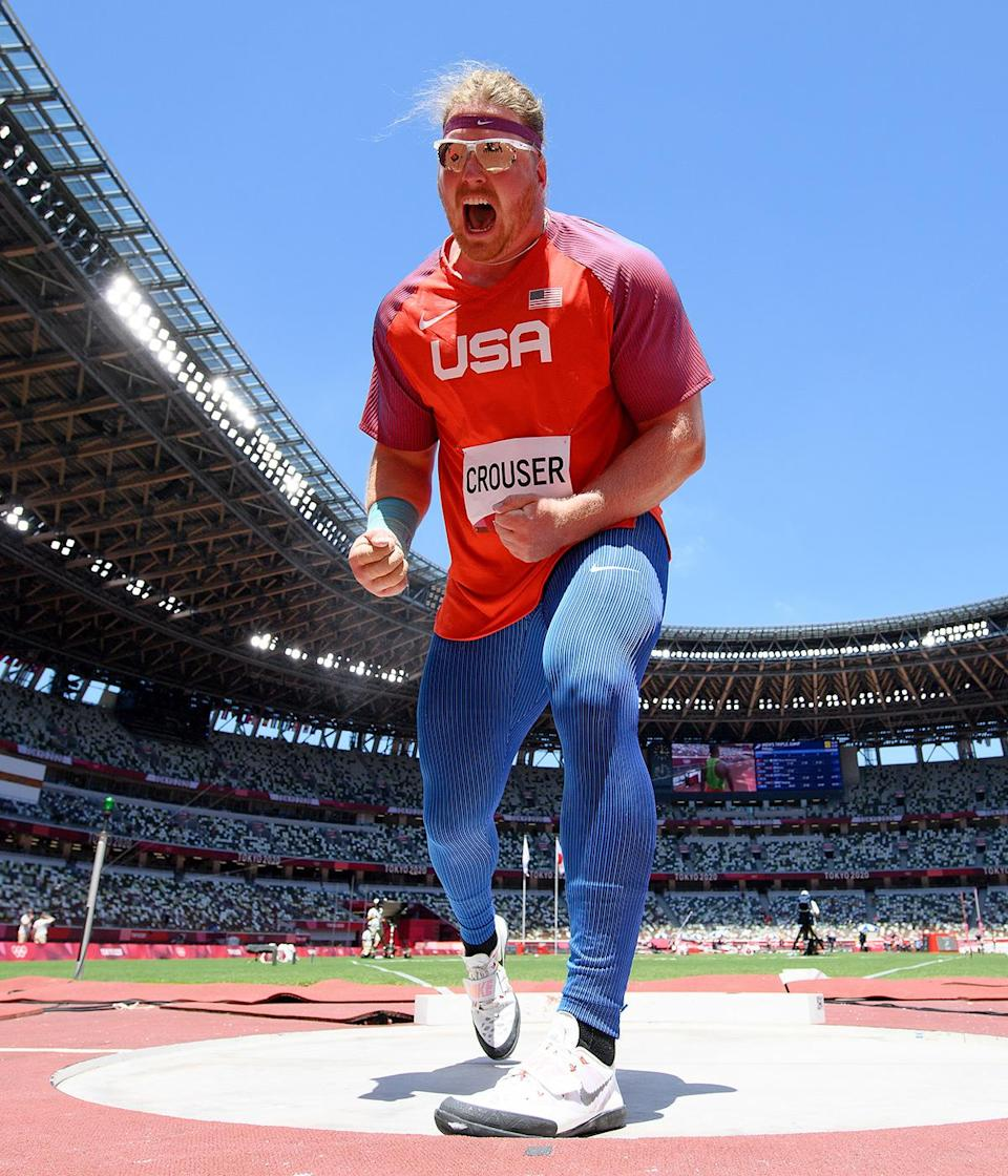 """<p>Biography: 28 years old</p> <p>Event: Men's shot put</p> <p>Quote: """"To lose [my grandfather] the week before the Olympics was obviously sad. But I feel like he was able to be here in spirit.""""</p>"""